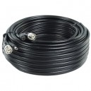 CABLE COAXIAL RG59 + ALIMENTATION DC 20 M