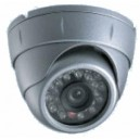 DOME STATIQUE ANTI-VANDAL 3 AXES,HR 600L, IR 15M, DIAM 70MM 'EYEBALL'